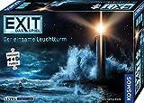 KOSMOS 698881 EXIT - Das Spiel + Puzzle: Der einsame Leuchtturm, Level: Fortgeschrittene, Escape Room Spiel mit Puzzle