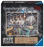 Ravensburger EXIT Puzzle In der Spielzeugfabrik, Puzzle Für Erwachsene Und Kinder Ab 12 Jahren, 368 Teile