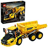 LEGO 42114 Technic Control+ Knickgelenkter Volvo-Dumper (6x6) Baufahrzeug, App-gesteuertes Konstruktionsspielzeug