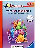 Monstergeschichten - Leserabe 1. Klasse - Erstlesebuch für Kinder ab 6 Jahren (Leserabe mit Mildenberger Silbenmethode)