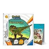 tiptoi Ravensburger Buch 4-7 Jahre | Pocket Wissen - Dinosaurier + Kinder Dino Poster | Pocketwissen, Tip TOI
