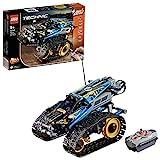 LEGO 42095 Technic Ferngesteuerter Stunt-Racer Spielzeug, 2-in-1-Rennwagen, Modell mit Motorfunktionen, Rennwagen-Kollektion