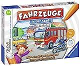 Ravensburger tiptoi Spiel 00848 Fahrzeuge in der Stadt - Lernspiel ab 3 Jahren, lehrreiches Zuordnungsspiel für Jungen und Mädchen, für 1-4 Spieler