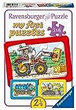 Puzzle ab 2.5 Jahren - Bagger, Traktor, Kipplader