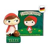tonies Hörfiguren - 5 Lieblings Märchen Figur: Rotkäppchen, Frau Holle, Dornröschen, Rumpelstilzchen, Schneewitchen - für die Toniebox - ca 48 Min. - ab 3 Jahre - DEUTSCH