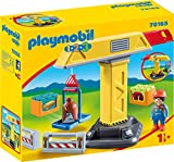 PLAYMOBIL 70165 1.2.3. Baukran, ab 18 Monaten, bunt, one Size