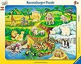 Kinderpuzzle - Zoobesuch
