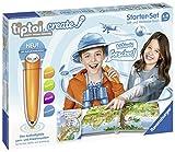 Ravensburger tiptoi CREATE Starter-Set 00805: Stift und Weltreise-Buch - Kreativ-Buch für Kinder ab 6 Jahren, mit Aufnahmefunktion