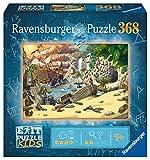 Ravensburger EXIT Puzzle Kids - 12954 Das Piratenabenteuer - 368 Teile Puzzle für Kinder ab 9 Jahren, Kinderpuzzle